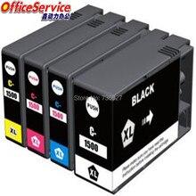 PGI-1500 PGI1500 1500XL Compatible ink Cartridge For Canon MAXIFY MB2050 MB2350 MB2150 MB2750 inkjet printer 1set pgi 1500 auto reset chip for canon pgi1500 pgi 1500 permanent chip for canon maxify mb2050 mb2350 for europe
