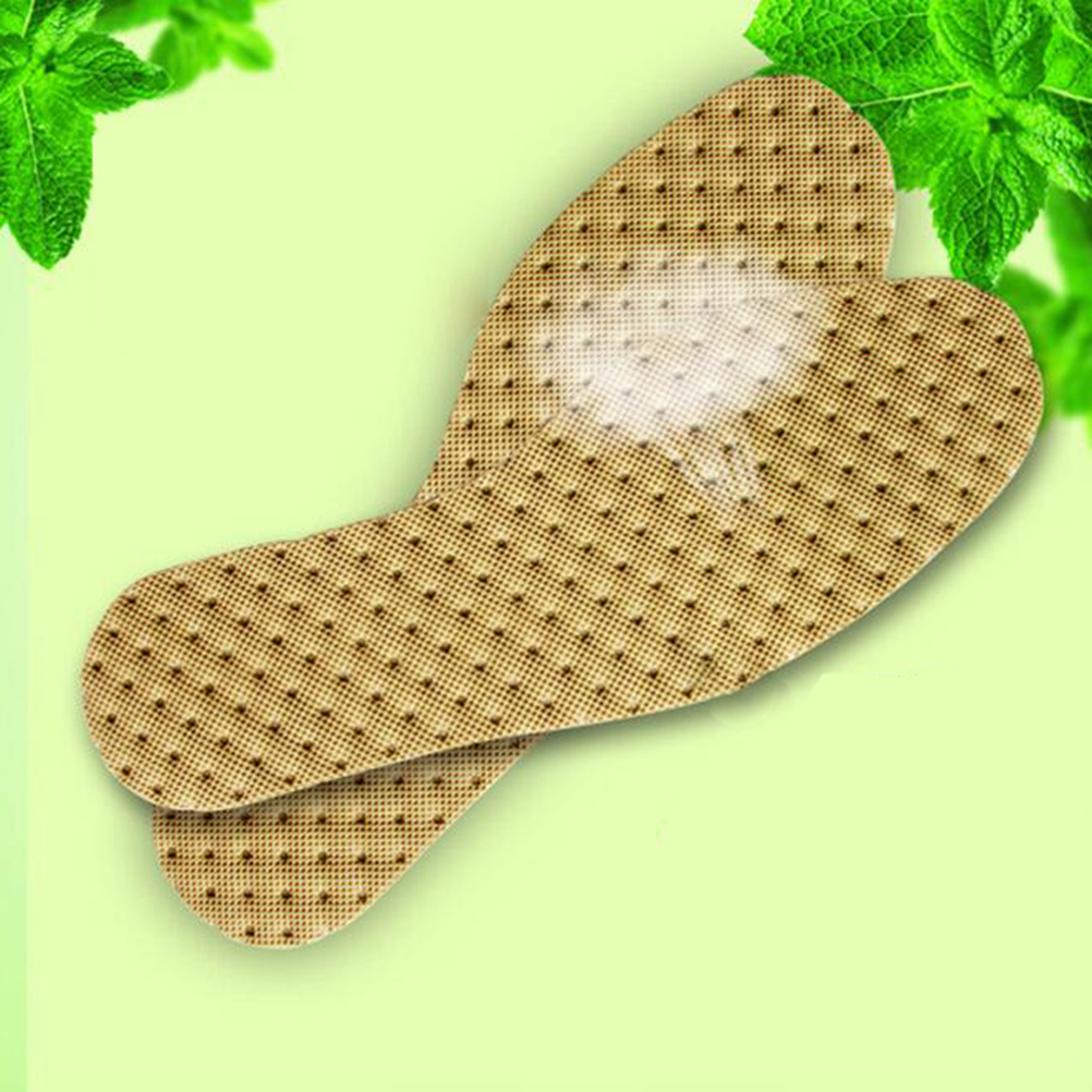 1Pair Deodorant Insoles Light Weight Shoes Pad Absorb Sweat Summer Breathable Shoes Pad Cushion