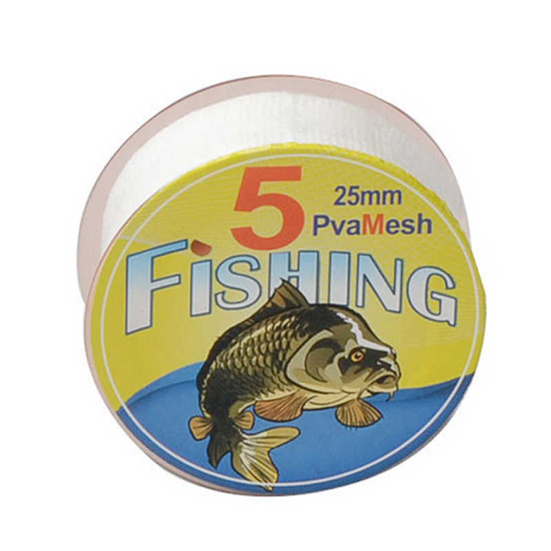 Acessórios de pesca 1 PC Novo 5 M Carp Fishing PVA Malha Refill Boilie Rig Isca de Lotação Sacos