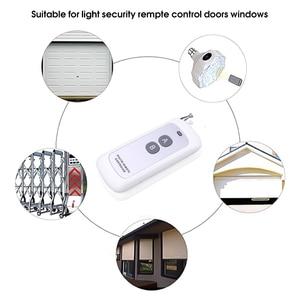 Image 2 - Kebidu 433mhz télécommande longue portée sans fil présentateur contrôleur RF Module 2/4 touches télécommande pour porte de porte
