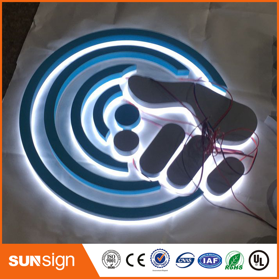 Waterproof 3d Led Letter Sign For Outdoor Backlit Sign