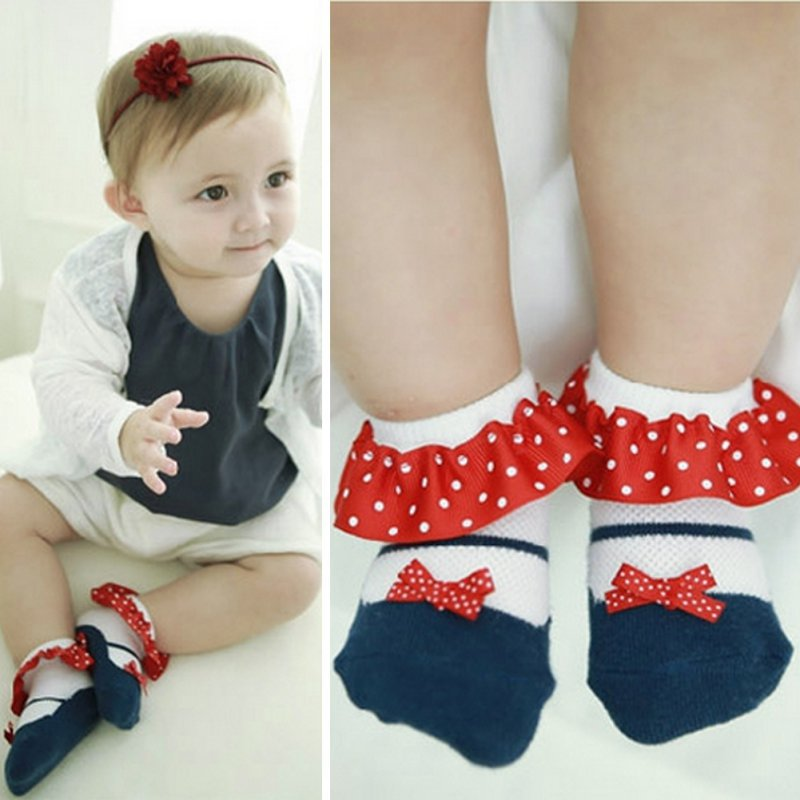 Sweet Toddler Baby Princess Socks