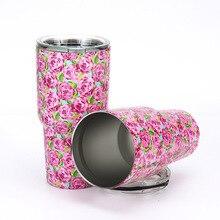 Nueva Caliente 30 OZ Doble Vaso de Acero Inoxidable Taza De Viaje Botella de Agua Tazas de Rambler Refrigerador Tazas de Café taza de la Cerveza