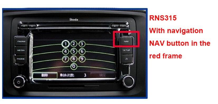 RNS315 radio