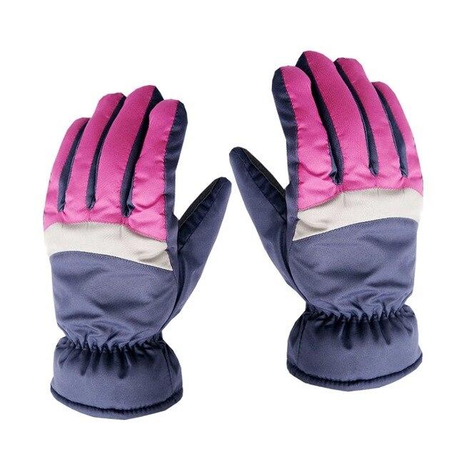 Мужские непромокаемые ветрозащитные женские зимние лыжные теплые перчатки для верховой езды на открытом воздухе полный палец перчатки 2018 Новые