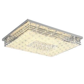 Fashion bright crystal ceiling light for bedroom living room simple homing led lighting flush mount ceiling lamp lamparas modern
