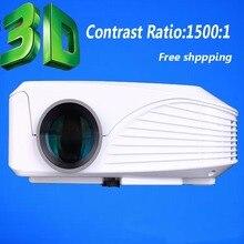 Digital Mini Projector Resolution Native VGA 800*600 Pixels Maximum Resolution Full HD (1920 x 108 Pixels) , through HDMI