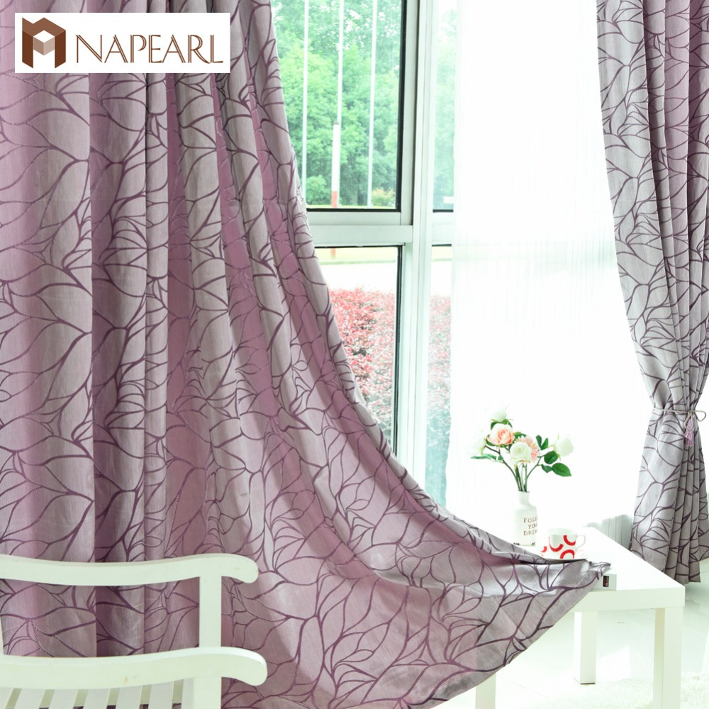 Modern grommet top curtains - Modern Curtains For Living Room Jacquard Fancy Design Curtain Drapes French Window Treatments Home Rideaux Grommet Top Custom