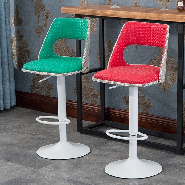 villa bar chair Color customization living room stool free shipping living room chair bar wine stool green color villa household chair stool retail wholesale free shipping