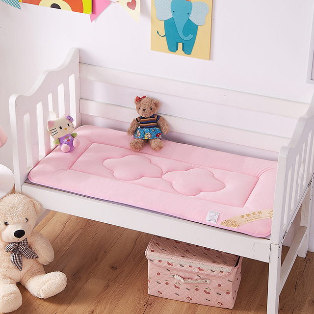 60 x 120cm Portable Baby Children Crib And Toddler Mattress Pad Cover  Breathable Portable Removable And Washable