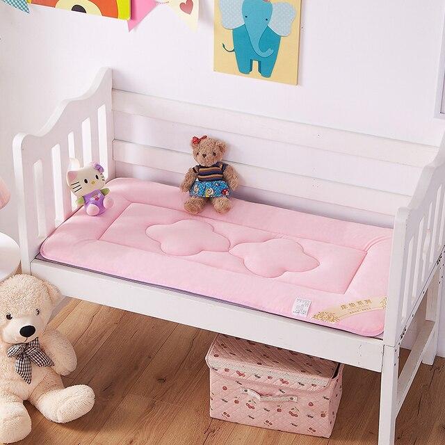 60x120 ซม. เด็กทารกแบบพกพาเด็ก Crib และที่นอน Pad Breathable แบบพกพาที่ถอดออกได้และล้างทำความสะอาดได้