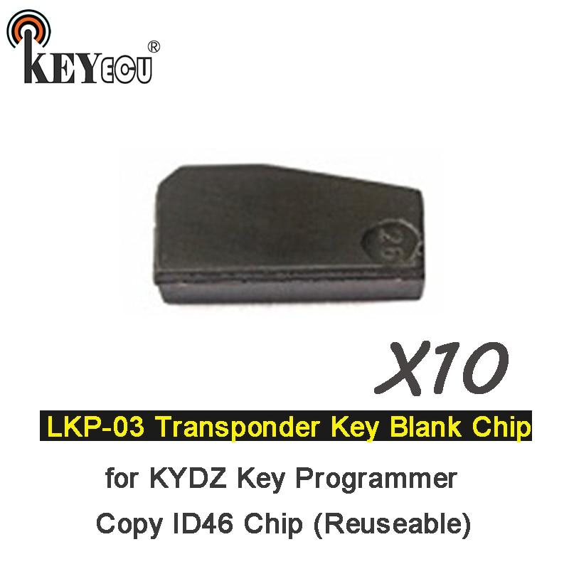 LKP-03 Car Key Blank Chip for 46 Chip Key Can Program//Copy 46 Chip 50PCS