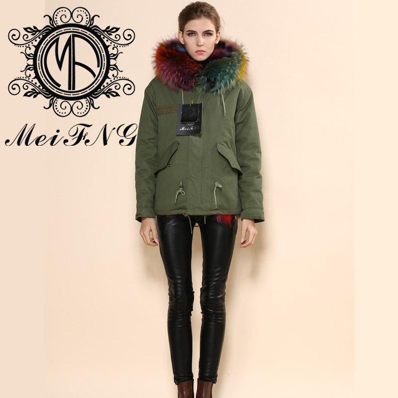 Aliexpress.com : Buy Latest Man/women Colorful Lining Fox Fur ...