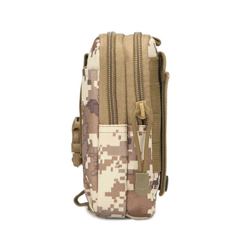 d17226b33494 HOT Men Outdoor Tactical Pouch Belt Waist Pack Bag Small Pocket Military  Waist Pack Running Pouch Travel Camping Bags Soft Back