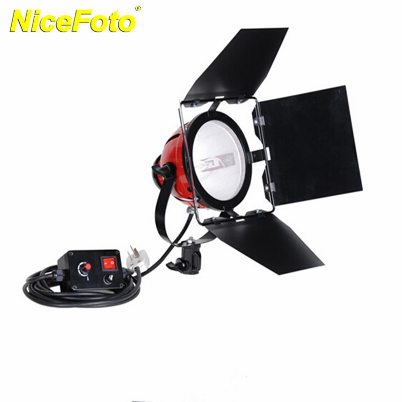 NICEFOTO 800W Red Head Light SPOTLIGHT Studio Continuous Light With DIMMER For Studio Photography RDG-800A