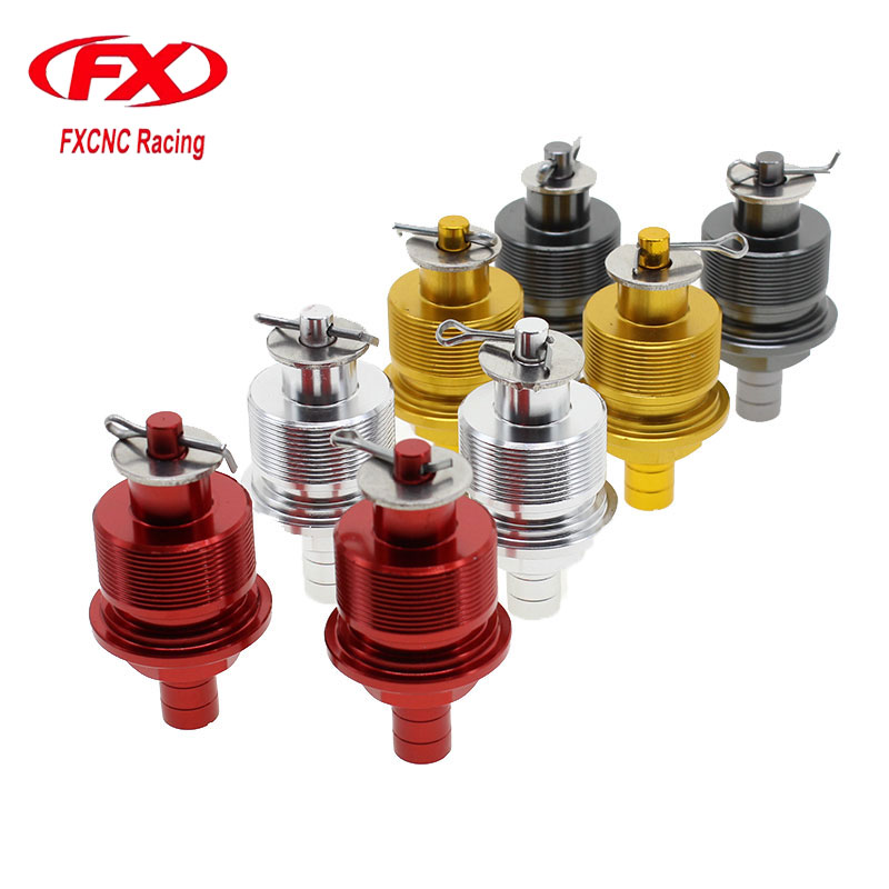 FX CNC 31MM Motorcycle Preload Adjusters Fork Bolts Fits Showa 31mm Conventional Forks
