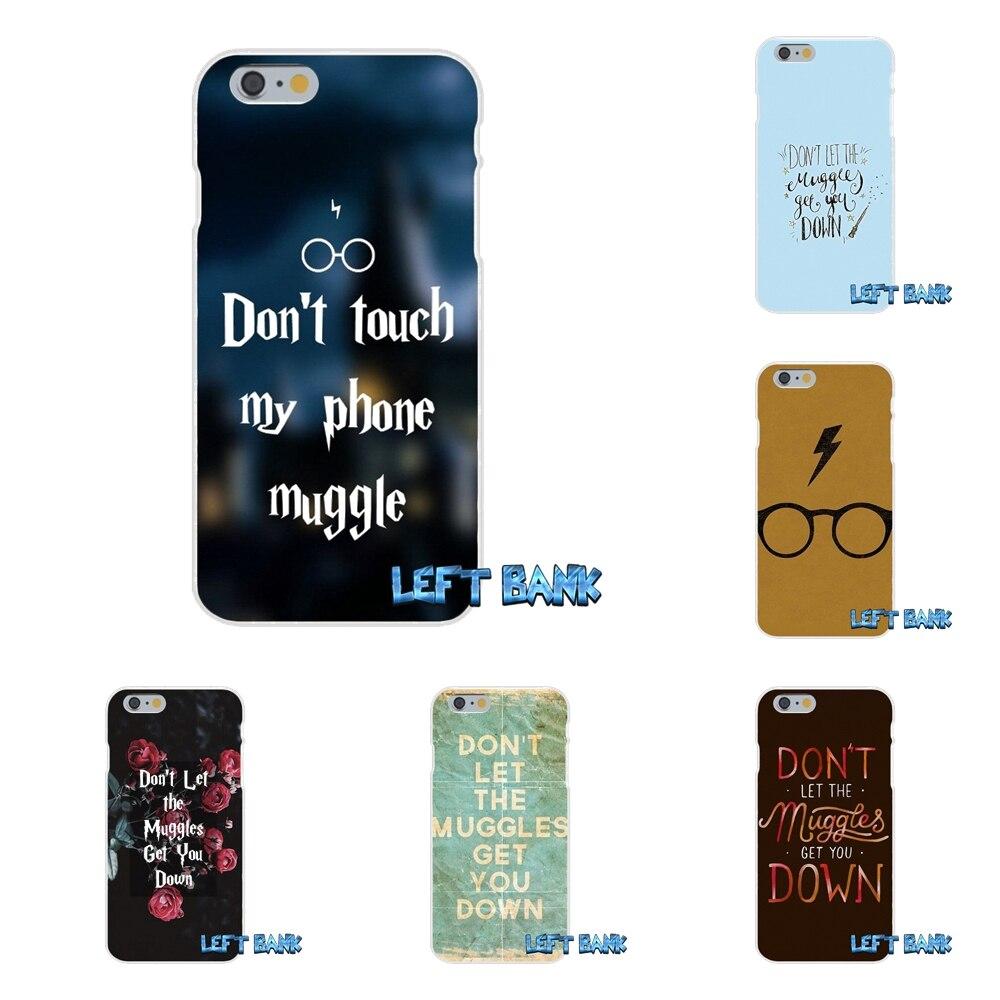 For Sony Xperia Z Z1 Z2 Z3 Z4 Z5 compact M2 M4 M5 E3 T3 XA Aqua Harry Potter Don&#8217;t Let The <font><b>Muggles</b></font> Soft <font><b>Phone</b></font> Case Silicone