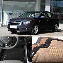 Savanini Premium Auto Fabric Nylon Anti-slip Floor Mats Carpet For Chevrolet Cruze 2008-2013