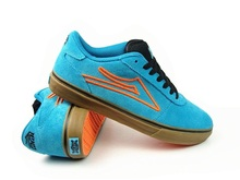 US Size 9-12 Boys Sneakers Lakai MANCHESTER Blue Anti-Fur Shoes Summer Athletic Popular Rubber Hard-Wearing Shoes
