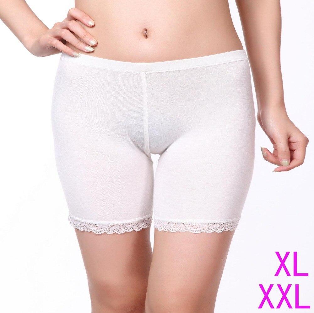 Modal Lace Patchwork Short   Leggings   for Women New Summer Comfortable Thin Pants Under Skirt Malfunction   Leggings
