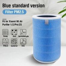 PM2.5 углерода Hepa сменный воздушный фильтр для Xiaomi Mi 1/2/2 S Pro Воздухоочистители фильтр для дома универсальный удаления пыли формальдегида