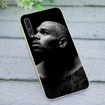 Soft TPU Chris Brown Phone Cover for Huawei Honor 6A Case 10 8 9 Lite 7A Pro 7X 7C Y6 Prime Nova 3 3i Non-slip image
