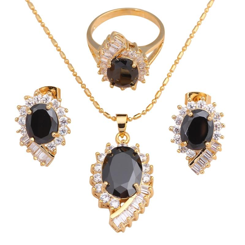 buy cool fashion jewelry set black onyx