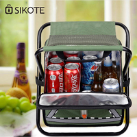 SIKOTE Insulation Fold Cooler Bag Chair Lunch Box Thermo Bag Waterproof Portable Food Picnic Bags Lancheira