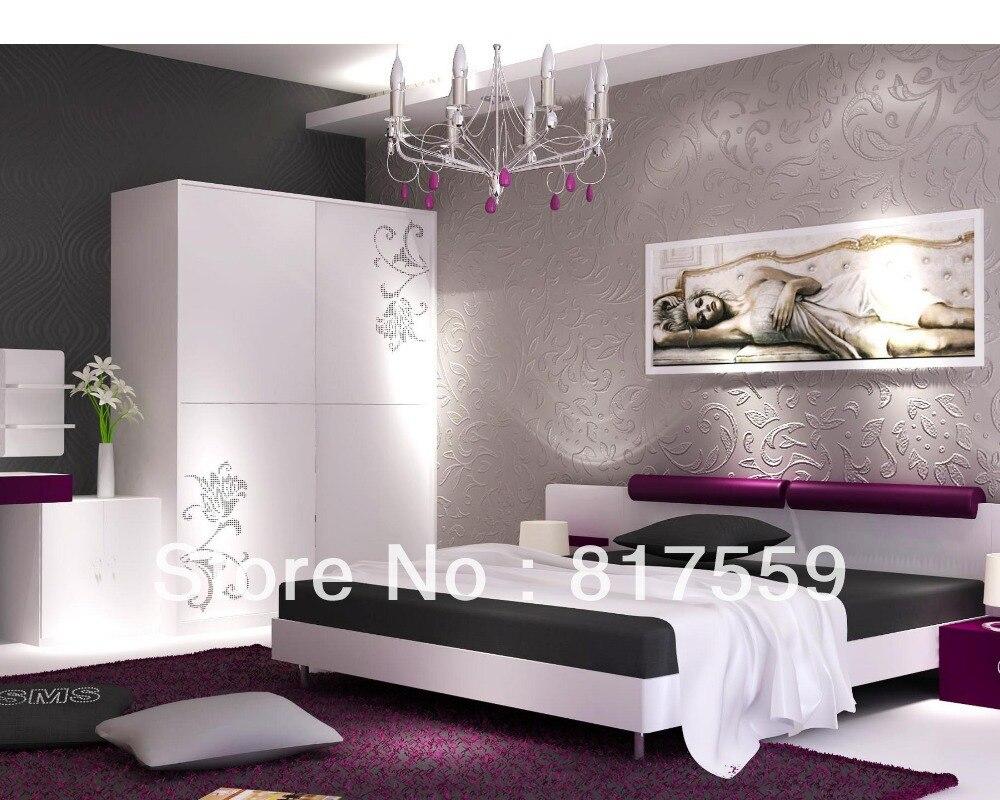 italiano dormitorio juego de dormitorio de lujo