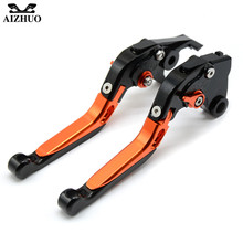 Motorcycle Clutch Brake Lever Adjustable Extendable CNC Aluminum Brake Clutch Lever For BMW F800GS F800 GS / Adventure 2013-2016