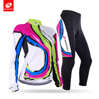 Nuckily Winter Women High Quality Sublimation Thermal Long Cycling Suits GE002GF002