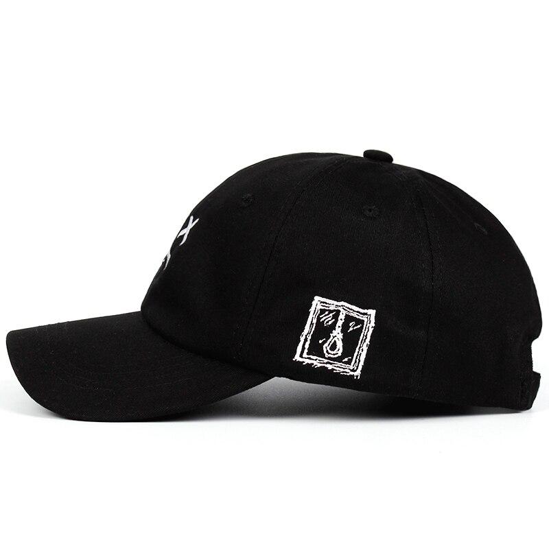 debe8732040 Lil Peep Sad face Dad Hat Embroidery 100% Cotton Baseball Cap Hat  xxxtentacion Hip Hop Cap Golf Love lil.peep Snapback Women Men-in Baseball  Caps from ...