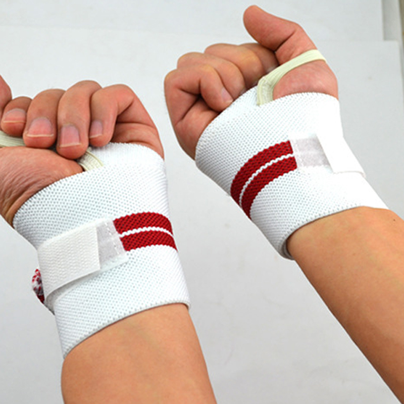 2015 A Pair Safety Gym Weight Lifting Gloves Fitness Wrist ...