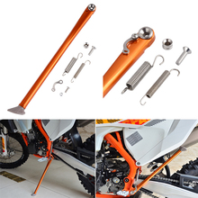 Side Stand Kickstand for KTM 125 150 200 250 300 350 400 450 500 505 530 XC XCF EXC XCW WXCF XCRW EXCR FREERIDE NEW цена и фото