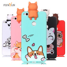 Silicone Case on sFor fundas Huawei P8 Lite 2017 Cover For Coque 3D Cat Unicorn Panda Phone Cases Etui