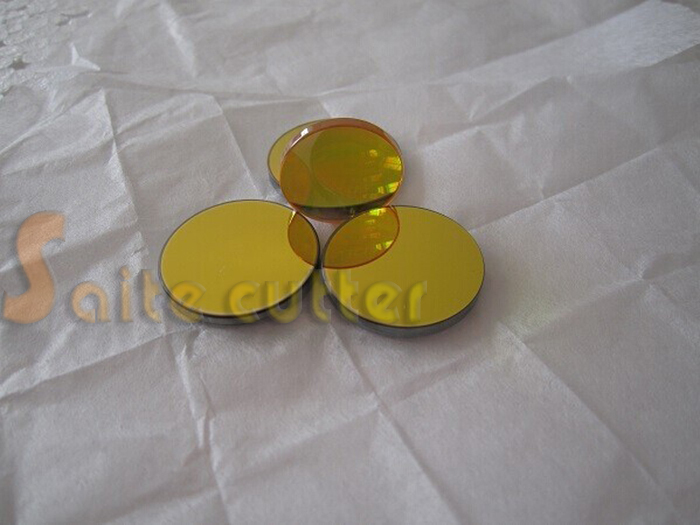 3 pcs Dia 25mm Si Reflection Mirrors + 1 pc Znse Focal Lens Dia 20 Focal 63.5mm 2.5