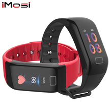 Imosi Smart Wristband Fitness silicone Bracelet Blood Pressure Oxygen Heart Rate Monitor Tracker stopwatch wearable device band