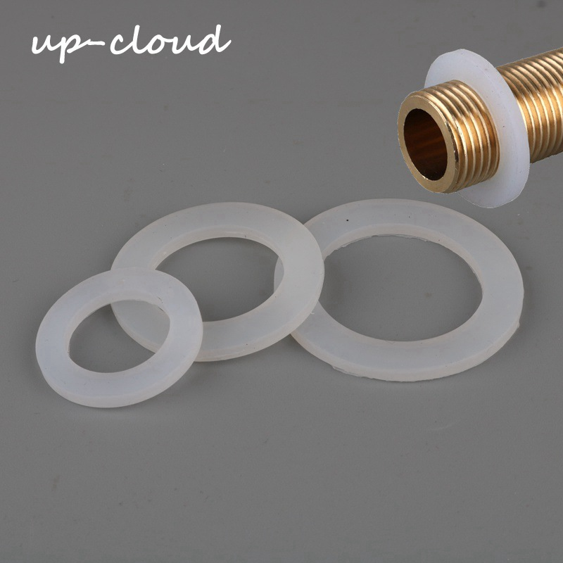 10pcs 20mm 25mm 32mm 40mm 50mm Silicone Gasket Sealing 1/2