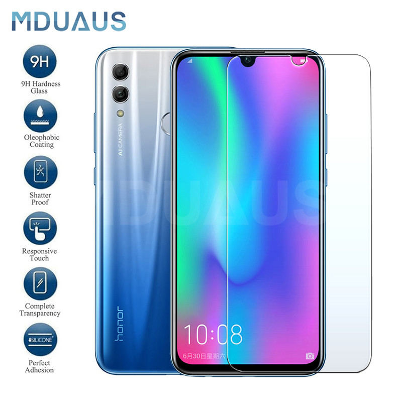 9H Tempered Glass on the For Huawei Honor 10 9 8 Lite Protective Glass For Honor 20 V10 V20 V9 Play 8X Screen Protector Film image