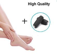 Velvetley Foot Care Tool Electric Pedicure Machine ShoLleing File Set Skin Care Dead Foot Skin Remover +2 Roller Heads