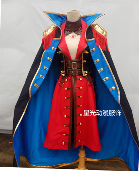 Francis Drake Fate/Grand Order Cosplay Francis Drake cosplay costume FGO cosplay custum-made 1