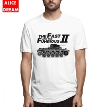 Tank t shirt  The Fast And Fuhrious II Military History Tee Shirt Casual Short Sleeve 100% Cotton S-6XL Plus Size Tshirt