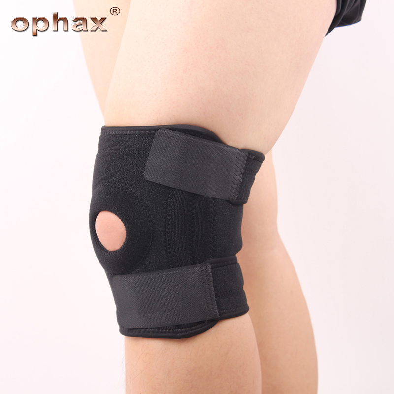 OPHAX Knee Brace Support Pads Orthosis Patella Gym Knee Fixing Pad Spring Support Joint Knee Braces For Arthritis Pain ReliefOPHAX Knee Brace Support Pads Orthosis Patella Gym Knee Fixing Pad Spring Support Joint Knee Braces For Arthritis Pain Relief