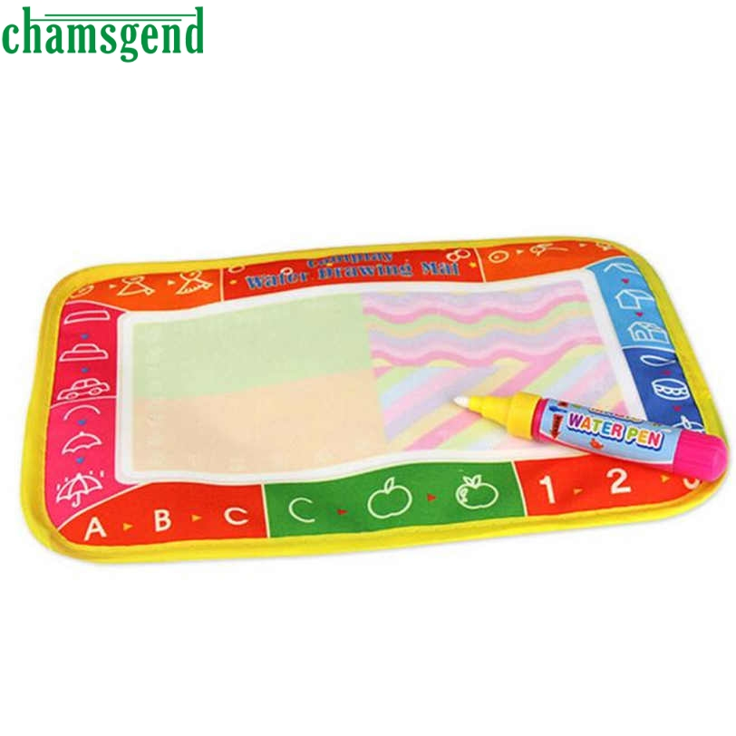 CHAMSGEND Best seller drop ship New Water Drawing Painting Writing Mat Board Magic Pen Doodle Toy Gift x .5cm S30