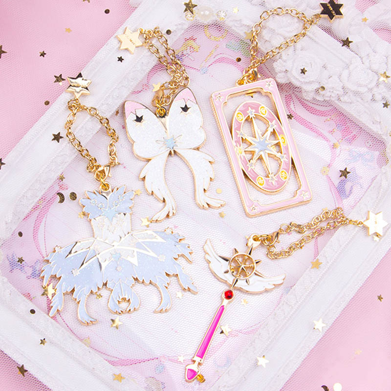 card captor cardcaptor sakura clear cards Dream Wand flight bag charm jewelry keychain anne klein 2816 mprg