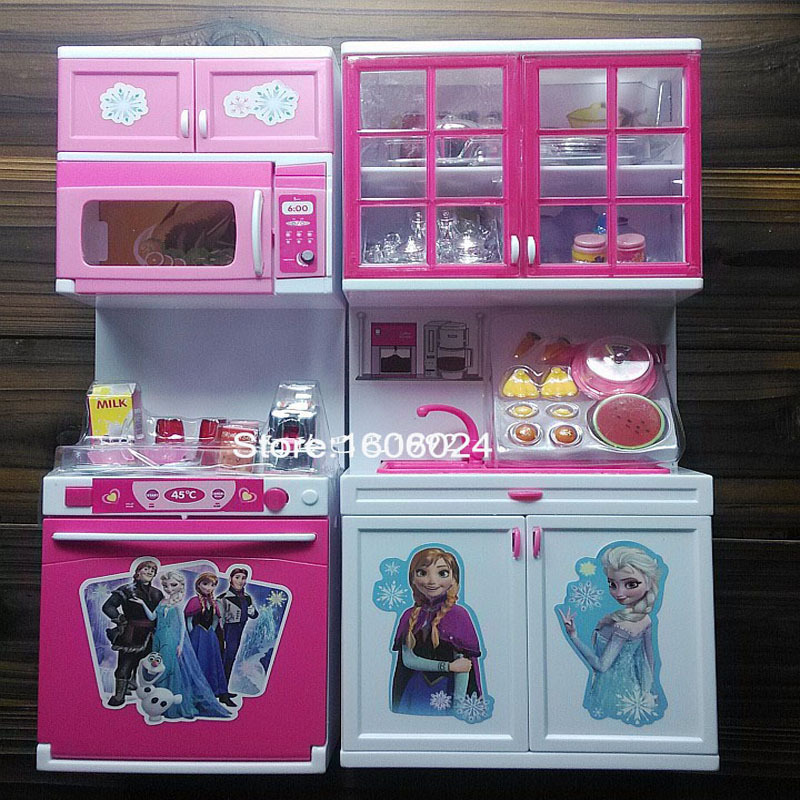 2015 best christmas gift pack girl cartoon elsa anna for Kitchen set 2015