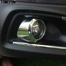 Для Suzuki SX4 S-Крест SX4 кроссовер 2014 2015 2016 ABS Chrome спереди и сзади противотуманных фар Крышка лампы отделки автомобиль Интимные аксессуары противотуманных фар