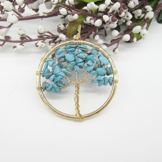 vivaterra wired tree necklaces of life necklace