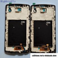 Highbirdfly LCD Display Digitizer Touch Glass Frame Assembly For Lg G3 D850 D855 Grey White Gold