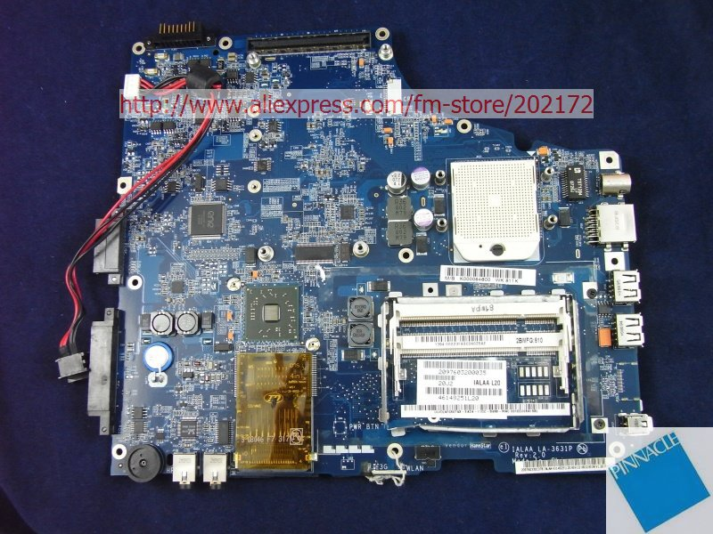 K000054600 Motherboard for Toshiba satellite A215 LA-3631P IALAA L20 image